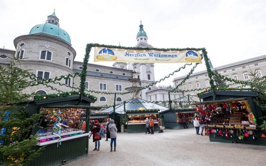 Salzburg's Christmas markets are some of the most beautiful in Austria
