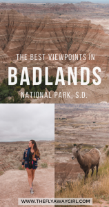 There is so much to do in Badlands National Park and these are my choices of the best viewpoint in the Badlands! On a South Dakota roadtrip, don't miss the best route through Badlands National Park and one of South Dakota's best roads.