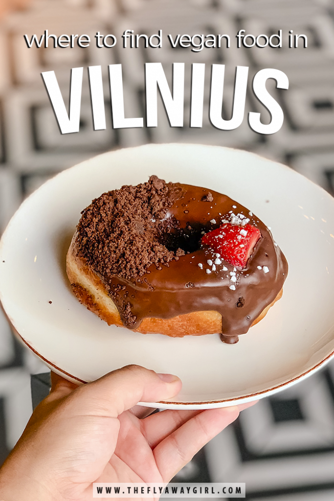 Don't miss these vegan restaurants in Vilnius! Whether you're vegan or not, don't miss a visit to some of the best foodie spots when you're in the city - they are definitely some of the best restaurants in Vilnius. #vilnius #lithuania #vegan