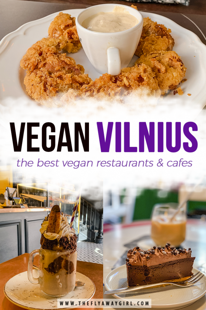 Want to know where to eat in Vilnius? While the Baltics are well known for their meat and potatoes cuisine, there is so much more to be found in Lithuania. Head to these vegan spots in Vilnius for delicious food without the meat! #vilnius #lithuania #veganfood