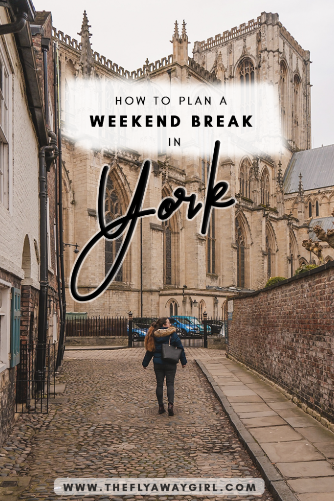 York is one of the prettiest cities in England and is a great city for a weekend break! There is so much to do in York, including visiting York Minster and Clifford's Tower. This guide to things to do in York is sure to keep you occupied! #england #citybreak #york #yorkshire